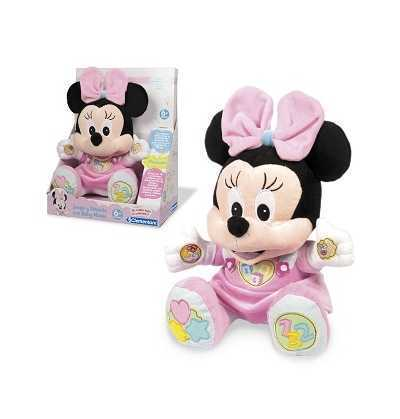 Minnie - Peluche educativo clementoni