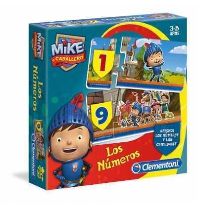 Mike el caballero - Numeros con clementoni