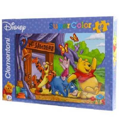 puzzle 60 Winnie Pooh la Casa   puzzle  clementoni
