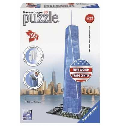 Puzzle 3d Freedom Tower Ravensburguer