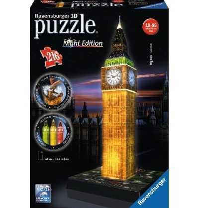 Puzzle 3d Big Ben con Luz