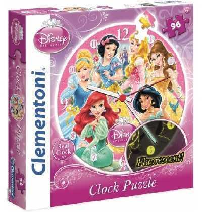 Puzzle reloj Princesas