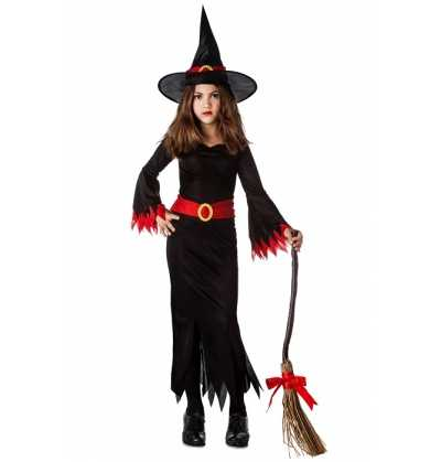 Disfraz Bruja Negra Bebe Halloween