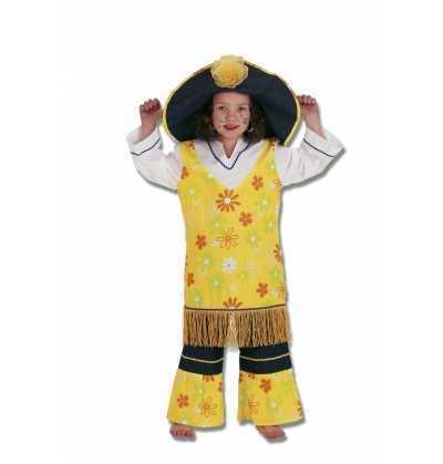 disfraz HIPPY  niña