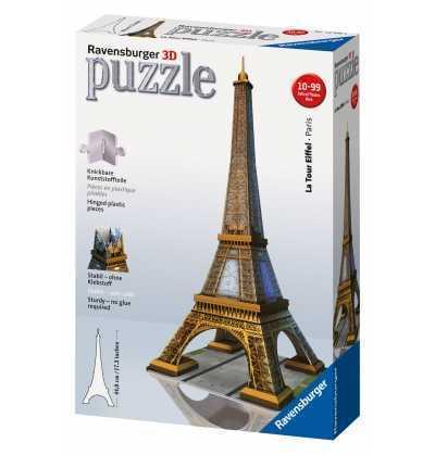 Puzzle Tour Eiffel 43 cm- 216 PZAS.  3D  ravensburger