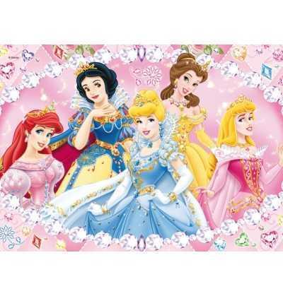 Puzzle 104 Princesas  joyas clementoni