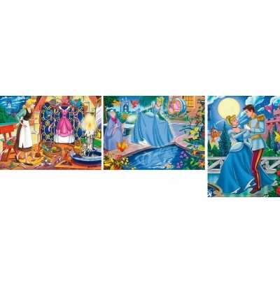 Puzzle 3x48 CENICIENTA     princesas   clementoni