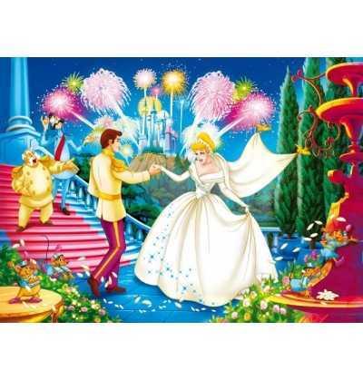 Puzzle 104 CENICIENTA princesas clementoni