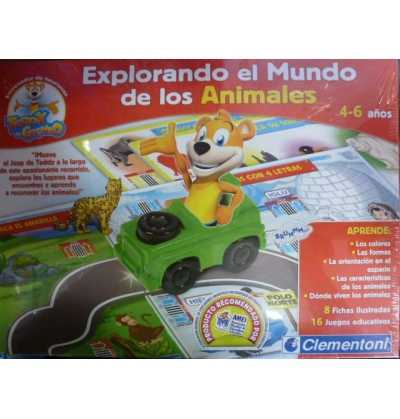 Teddy Interactivo Explorador Animales