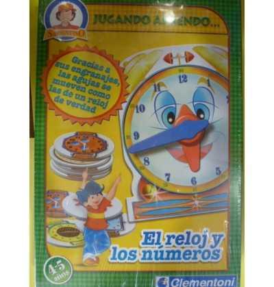 Los Numeros , el Reloj    clementoni