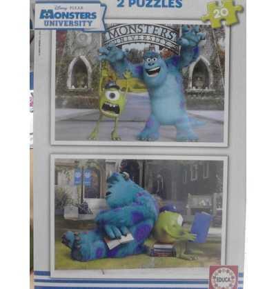 Puzzle 20 De Monstruos University