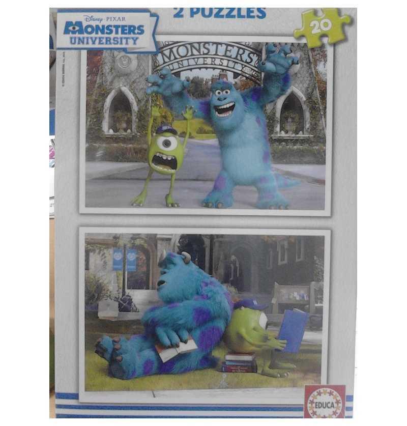 Puzzle 20 De Monstruos...