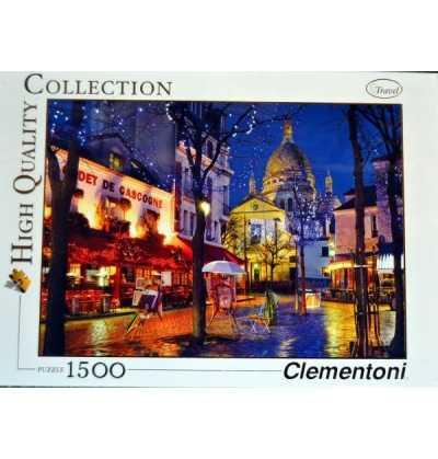 Comprar Puzzle 1500 Ciudad Paris Montmartre clementoni