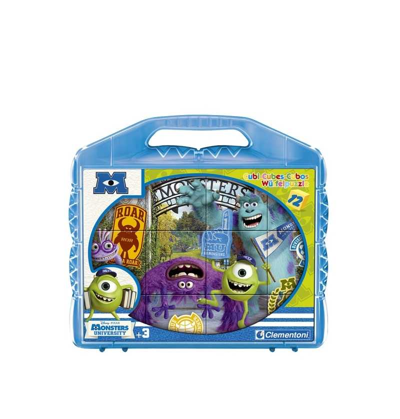puzzle Cubos 12 Monsters...
