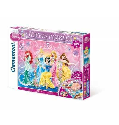 Puzzle 104 Princesas Jewels