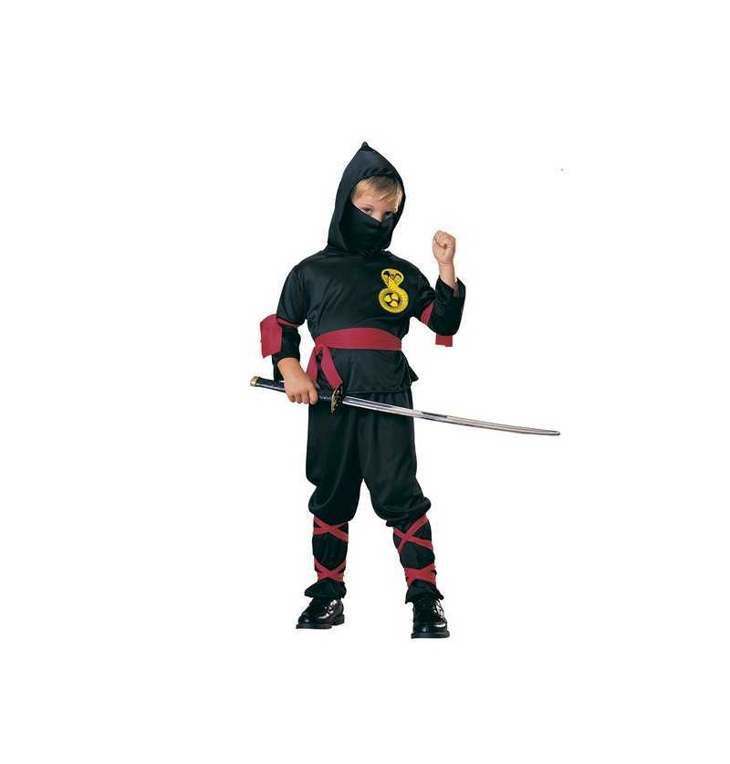 Comprar Disfraz Ninja Negro Infantil