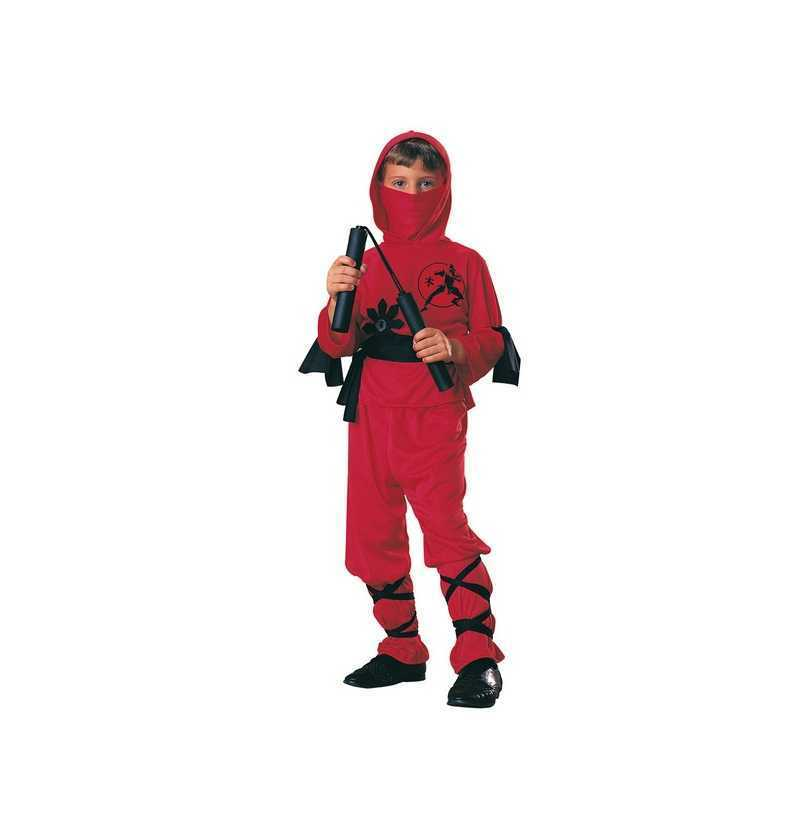 Disfraz Ninja rojo rubies