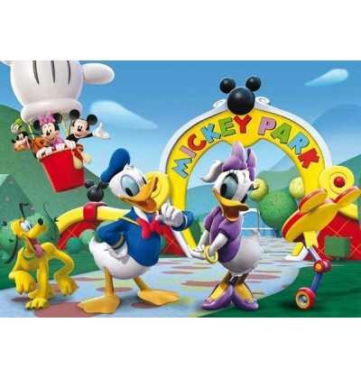 Puzzle 104 Club House Mickey Minnie
