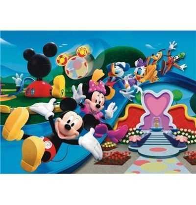 Puzzle 104 Mickey Tobogan