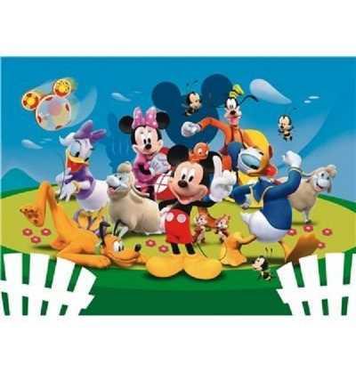 Puzzle 104 Buen dia Mickey