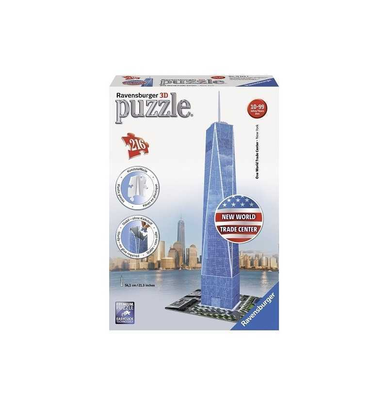 Puzzle 3d Freedom Tower...