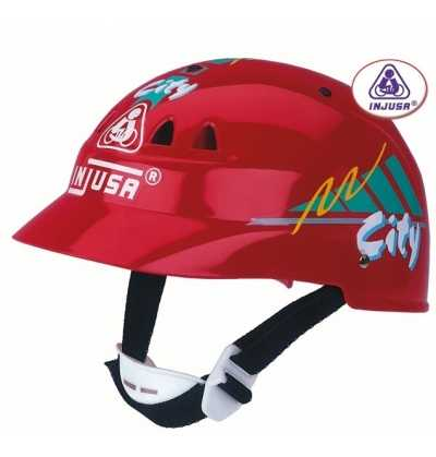 Comprar Casco Moto Infantil Rojo