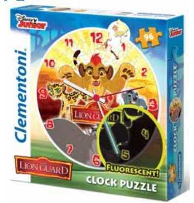 Puzzle Reloj  Rey Leon