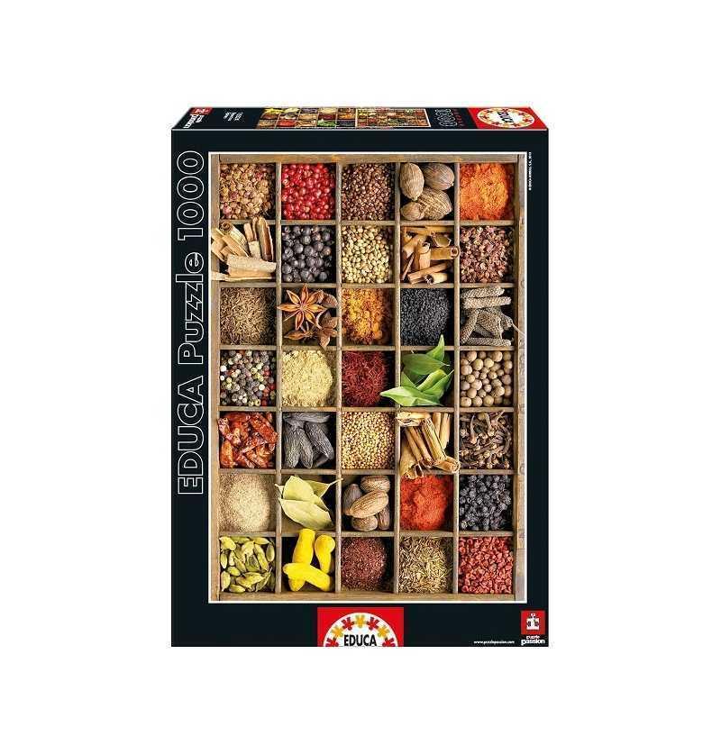 Comprar Puzzle 1000 piezas de Especias Alimentarias