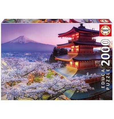 Puzzle 2000 Monte Fuji