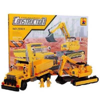 Juego de Construccion Camion Obras tipo Lego