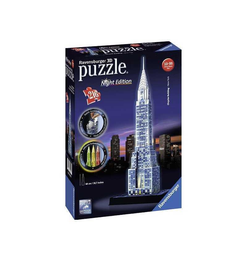 Puzzle 3d edificio Chrysler...