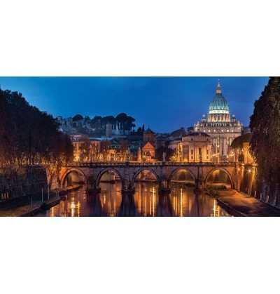 Puzzle 1000  piezas  Roma Panoramico