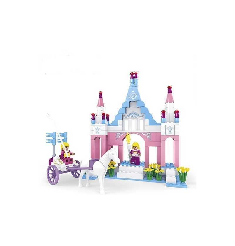 Juego Construcción Castillo Faryland tipo Lego