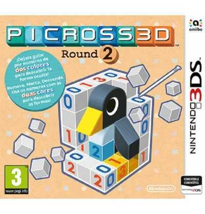 3DS Picross 3D round