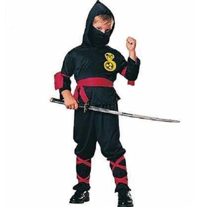 Disfraz Ninja Negro Rubies