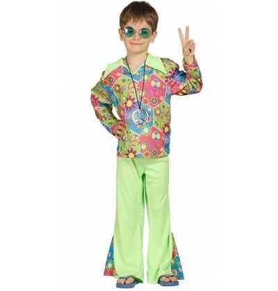 Disfraz hippie  chico infantil