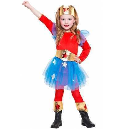 Disfraz Superheroina Infantil