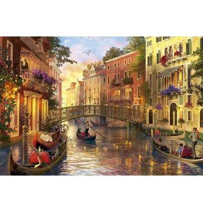 Puzzle 1500 Atardecer en Venecia
