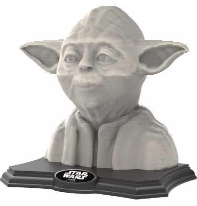 Puzzle Yoda 3d Escultura