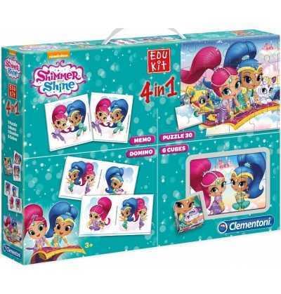 Edukit Shimmer  Shine Memori Domino