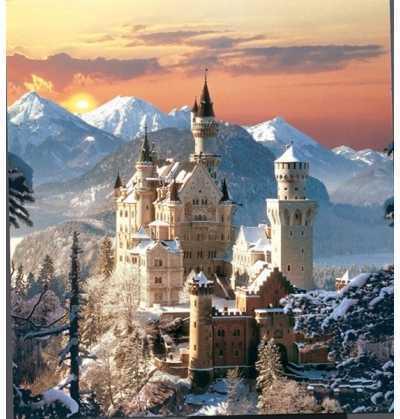 Puzzle 1500 piezas Neuschwanstein