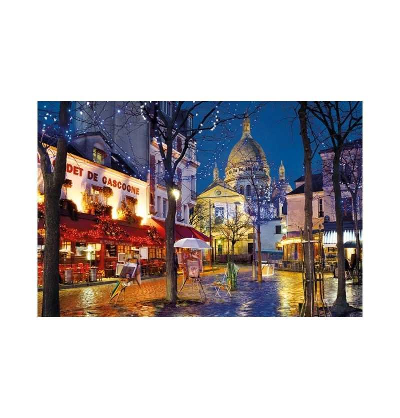 Puzzle 1500 Paris Montmartre clementoni