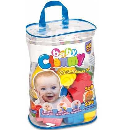 Clemmy Baby Bolsa 24 bloques clementoni