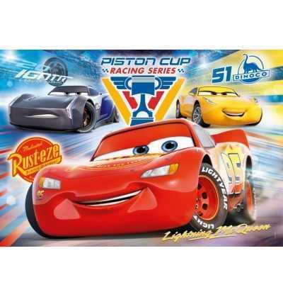 Puzzle 104 Cars 3