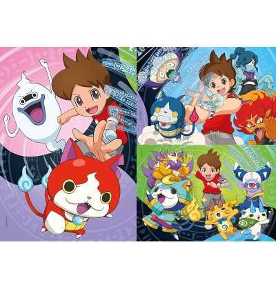 Puzzle 3x48 Yo Kai Watch