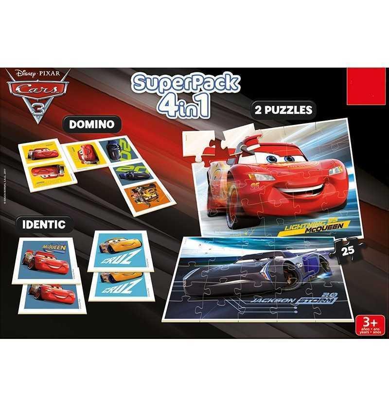 Comprar Juego Cars 3 Disney Superpack