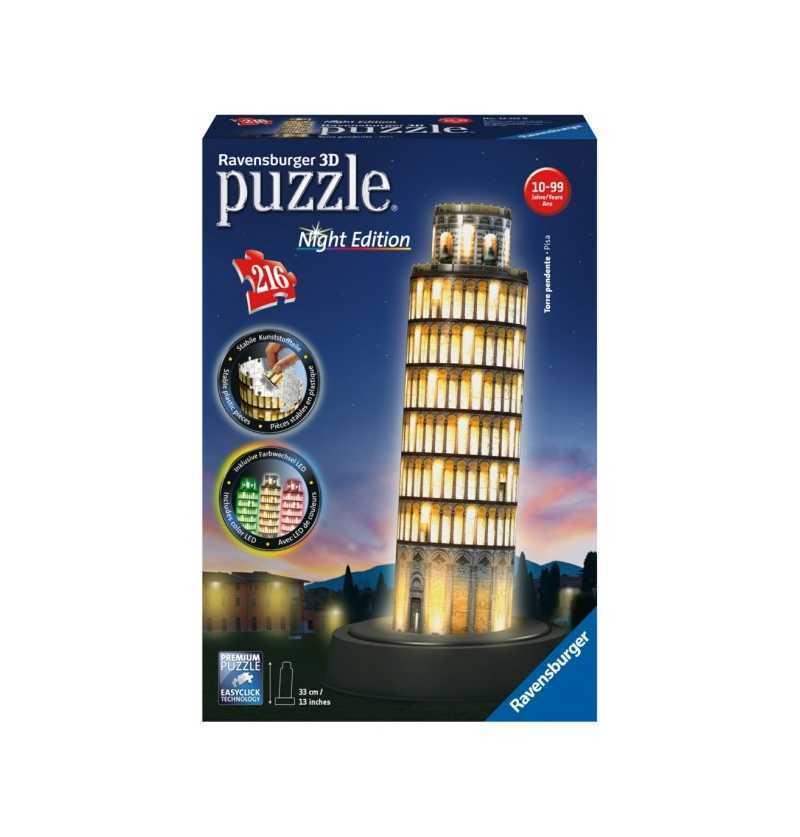 Puzzle 3D Torre de Pisa Luz...