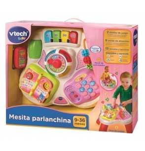 Mesita Parlanchina 2 en 1 Rosa  148057
