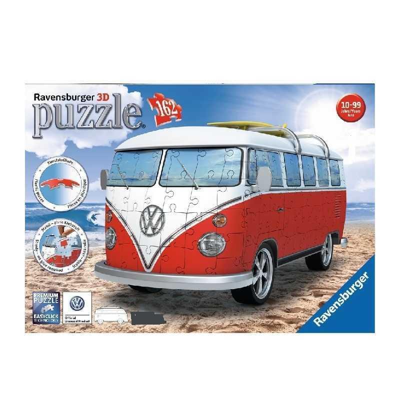 Furgoneta Volkswagen Puzzle 3D