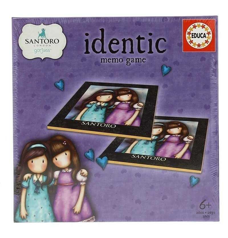 Comprar MemoriGorjuss   Identic educa 17292